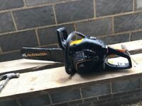 Mcculloch chainsaw cs 450 elite.