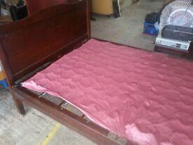 old big single spring bed