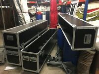 Large quality flight cases
