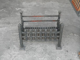 Old but solid cast iron Dog Grate