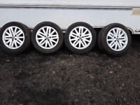 RENAULT ESPACE MKIV 2002-2010 SET OF 4 ALLOYS WITH TYRE