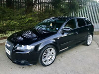 2008 Audi A3 S line 2.0 tdi 170bhp 5 Door Low Miles Outstanding Condition!