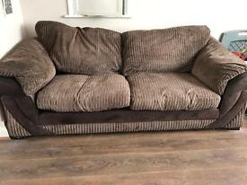 Sofa and round swivel chair . FREE!!!