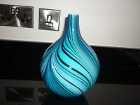 new beautiful glass vase