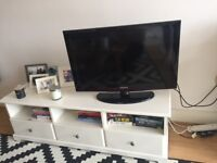 IKEA LIATORP TV stand with 3 drawers