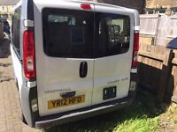 Vauxhall Vivaro For Sale Converted to a 8 Seater ready for Public Hire/Private Taxi