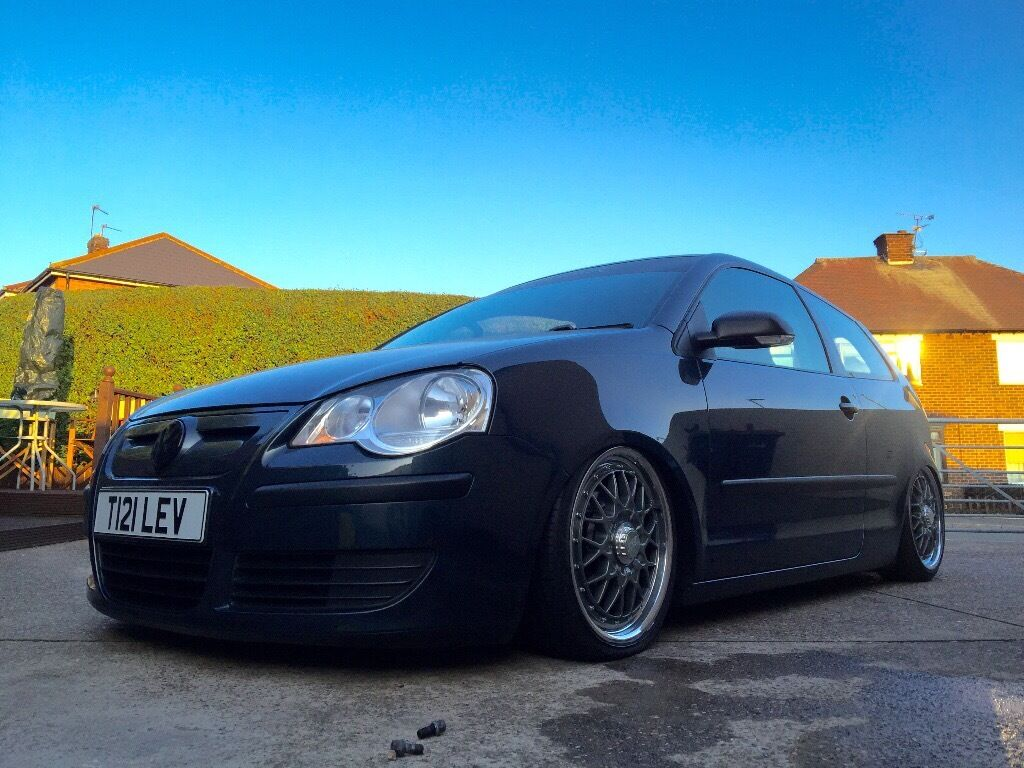 vw polo 9n3 showcar airlift bbs in hucknall nottinghamshire gumtree. Black Bedroom Furniture Sets. Home Design Ideas