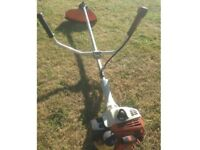 Stihl FS55 Petrol Strimmer brushcutter (new main shaft fitted) starts and runs well)