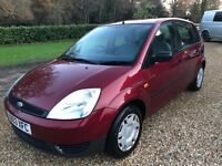 Ford Fiesta 1.4 LX - Superb Service History - 2 former owners - serviced and MOT'd less 2k ago