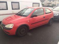Vauxhall corsa 1.2 spares and repairs (short mot)