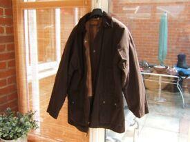 Medium Length Wax Jacket