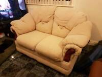 Sofa two-seater and armchair