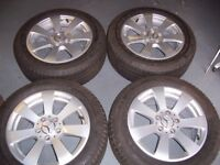 mercedes alloy wheels as new condition