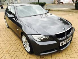 BMW 320i M SPORT,2006,FULL LEATHER,SRV HSTRY,1 YR MOT,GREAT RUNNER!!