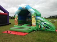 BOUNCY CASTLES 20ft x 16ft CHOICE OF TWO £650 EACH GOOD CONDITION MADE BY AIRQUEE