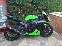 Kawasaki zx6r performance edition