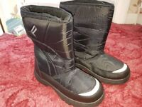 PARALLEL CHILLY SNOW BOOTS UNISEX BLACK UK9 BNWT