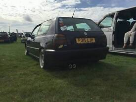 Golf mk3 modified cars vw swap why bmw audi ford e39