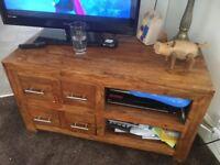 Sheesham Wood TV stand
