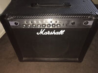 Marshall MG30CFX 30 Watt Guitar Amp with Effects Carbon Fibre Finish
