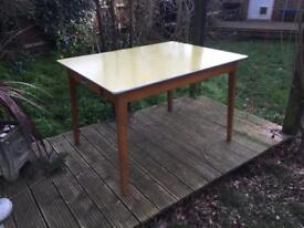 Vintage french formica garden table £80
