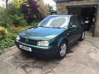 VW Golf Match 1.4l Mk4 British Racing Green