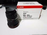Canon EF 16-35 mm f/2.8 L II USM Lens MK2 Good Condition