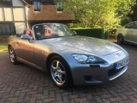 Honda S2000, 2.0, Convertible & Hard Top, Full Honda Service History, Verified Mileage, Leather etc
