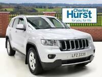 Jeep Grand Cherokee V6 CRD LIMITED (silver) 2012-10-25