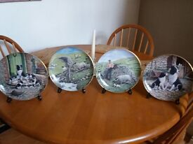James heŕriot wall plates