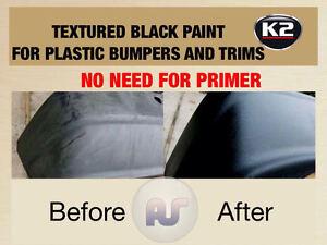 black plastic bumper paint ebay. Black Bedroom Furniture Sets. Home Design Ideas