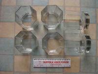 Tumblers octagonal