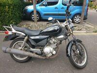 Cheap Yamaha YBR125 Custom