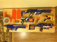 Nerf Guns Galore all in excellent condition