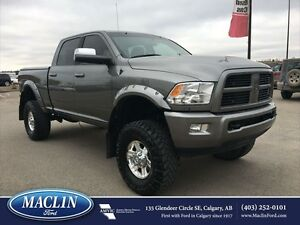 2012 Ram 3500 Lifted, Hot/Cold Leather, Nav, Moonroof, DVD