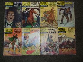 Classics Illustrated Set A (1940s & 1950s)