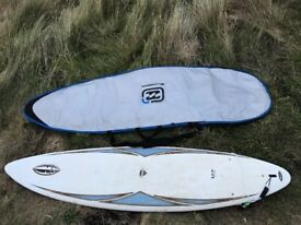BIC 6'10 evolution surfboard