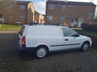 Vauxhall astra van 1.6 LPG spares or repairs