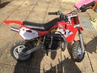 Moto Roma 49cc Kids MX Bike