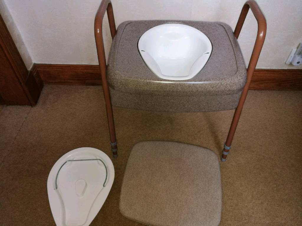 New unused commode chair, ideal as a quick solution   in Kilmarnock ...