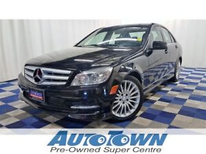 2011 Mercedes-Benz C-Class C250 4MATIC AWD/SUNROOF/ACCIDENT FREE