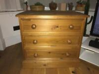 Excellent quality solid pine drawers