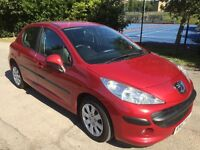 2007 Peugeot 207 1.4 VTi S 5d petrol with only 65000 miles and 3 month warranty.