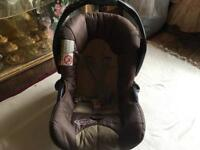 Graco baby car seat used 13kg good condition £5