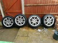 Vauxhall 18inch alloys