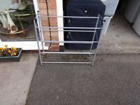 Metal 3 Tier wide shoe rack. Great condition. B20 area.