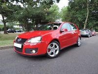 VOLKSWAGEN GOLF GTI - TORNADO RED -5 DOOR FULL SERVICE HISTORY -HPI CLEAR-2 OWNERS-2 KEYS-AUX-CLEAN