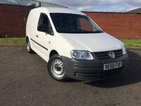2008 Volkswagen Caddy 2.0 sdi FSH LOW MILEAGE CLEAN VAN INSIDE AND OUT LONG MOT 12 MONTHS