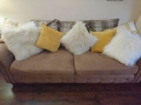 Beautiful 4 seater sofa
