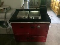 Rayburn natural gas GD80 serves cooker and central heating, very good condition